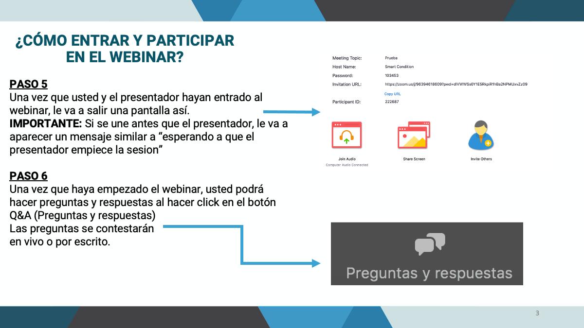 Tutorial Como Registrarse Ingresar Y Participar En El Webinar Por Zoom